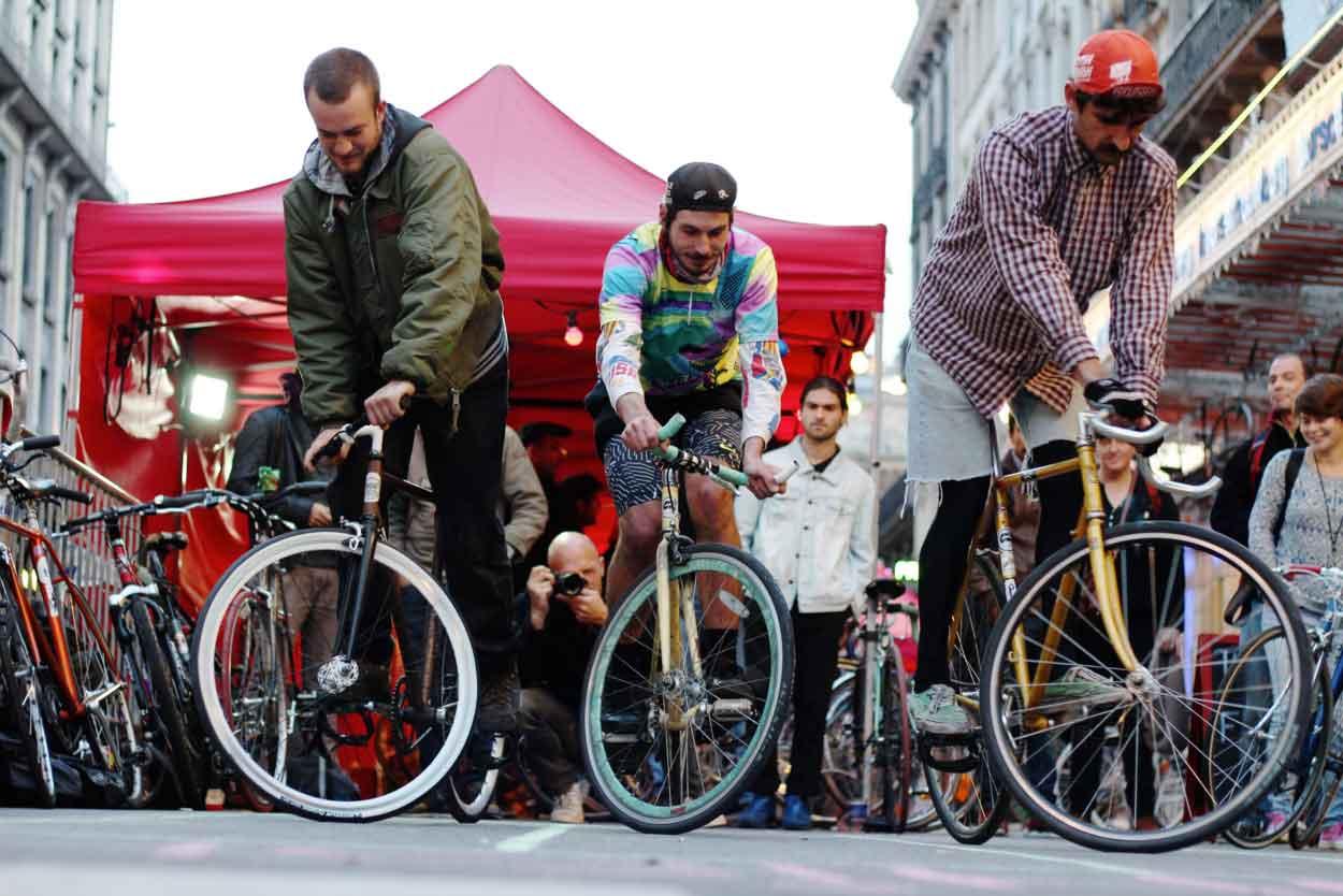 Met de fiets in Brussel